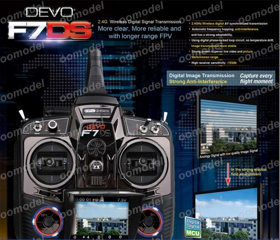 Walkera Devo F7DS radio