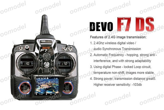 Walkera Devo F7DS radio 3