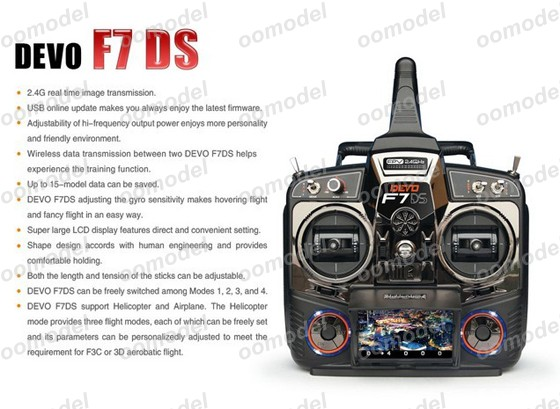 Walkera Devo F7DS radio 4