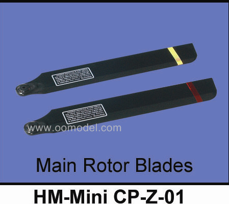 Walkera Mini CP Parts Main Rotor Blades HM-Mini CP-Z-01