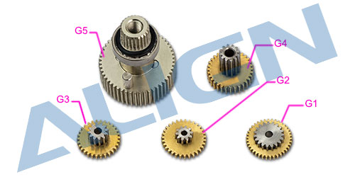 Trex DS615S Servo Gear