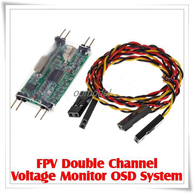 FPV Monitor OSD System 1