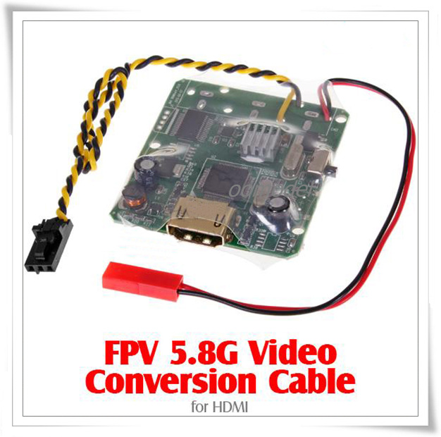 FPV 5.8G Video Conversion Cable 1