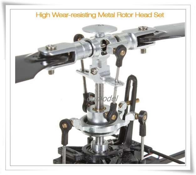 Genius CP Rotor Head Upgrade 2