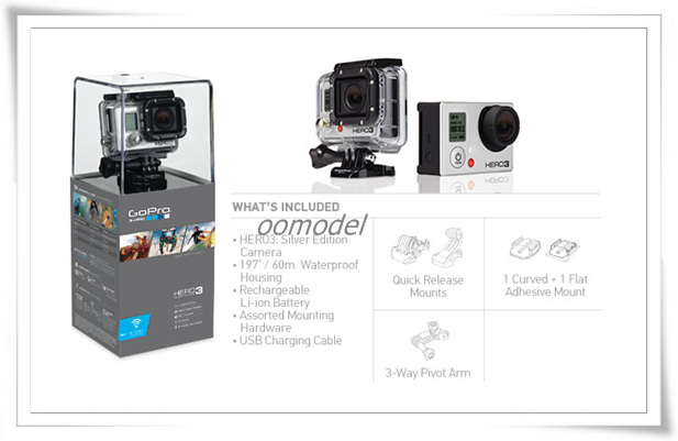 Gopro Hero 3 White 2