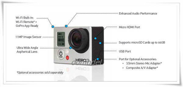 Gopro Hero 3 White 8