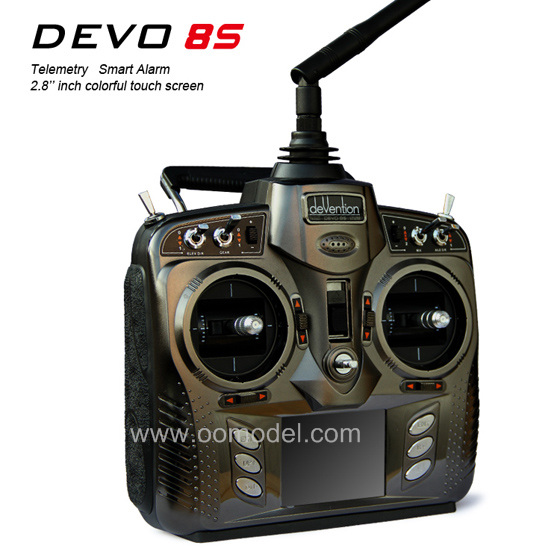 Walkera DEVO 8S 8CH Colorful Touch Screen Transmitter