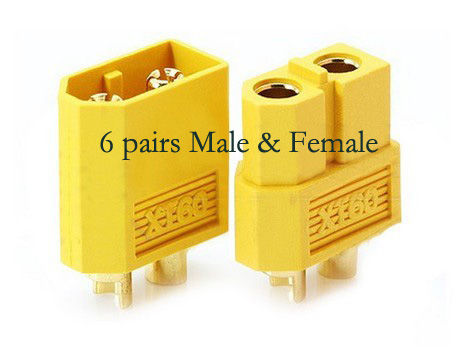 6 pairs XT60 Connector