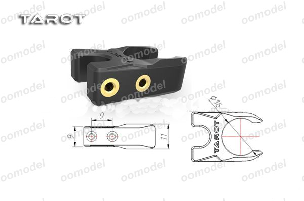 Tarot 16MM Folding Positioning Holder side view