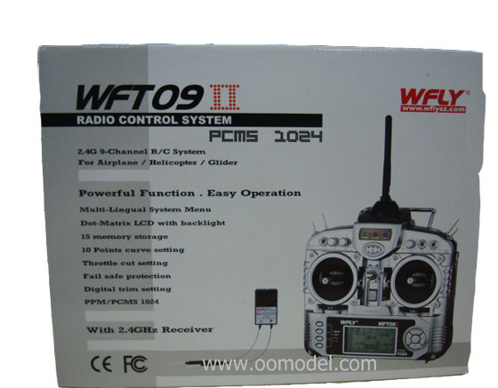 WFLY WFT09II 2.4GHz 9 channel